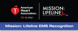Campbell County Health's Emergency Medical Services department earned the 2016 American Heart Association's Mission: Lifeline® EMS Bronze Level Recognition Award for implementing improved measures for treating patients who experience severe heart attacks.